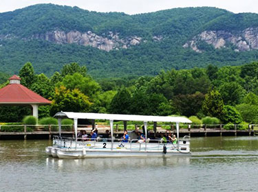 Lake-Lure-Activites-Tour-Boat-Lake